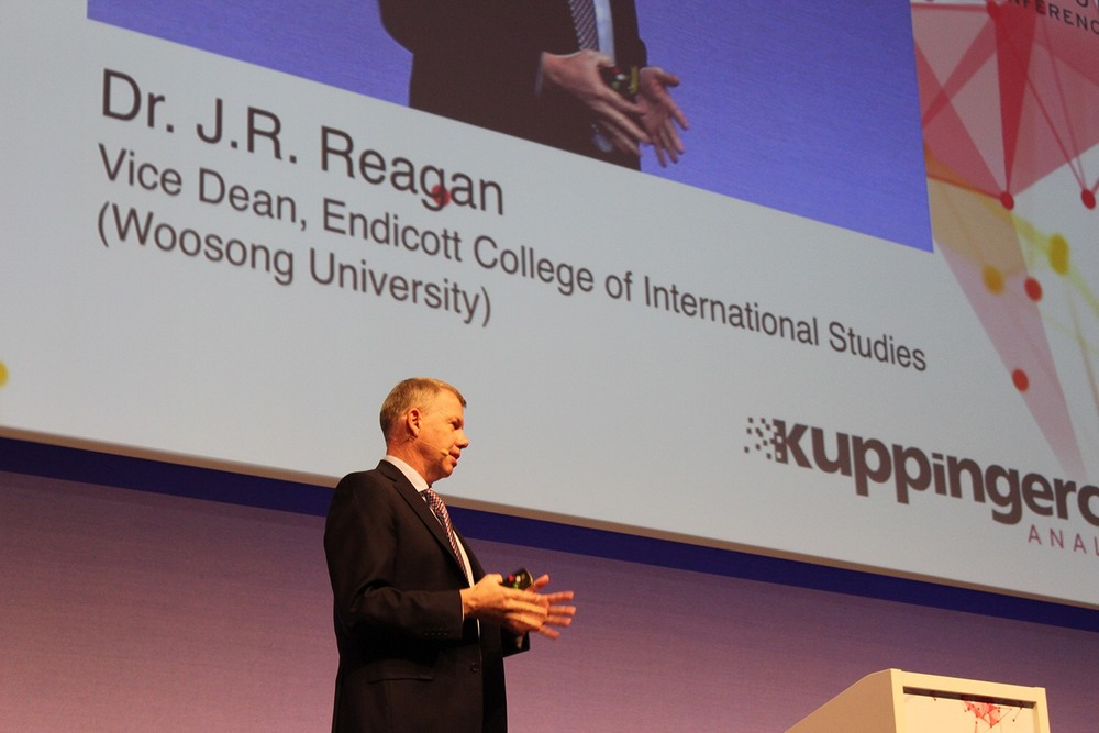 Dr. J.R. Reagan gave a speech in European Identity & Cloud Conference 2017