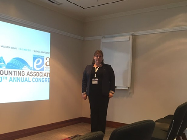 Dr. Anna Vysotskaya presented the Research Paper at European Accounting Association Annual Congress