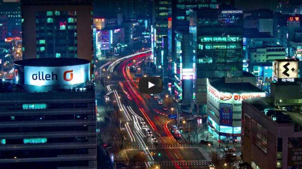 Time lapse Daejeon,South Korea