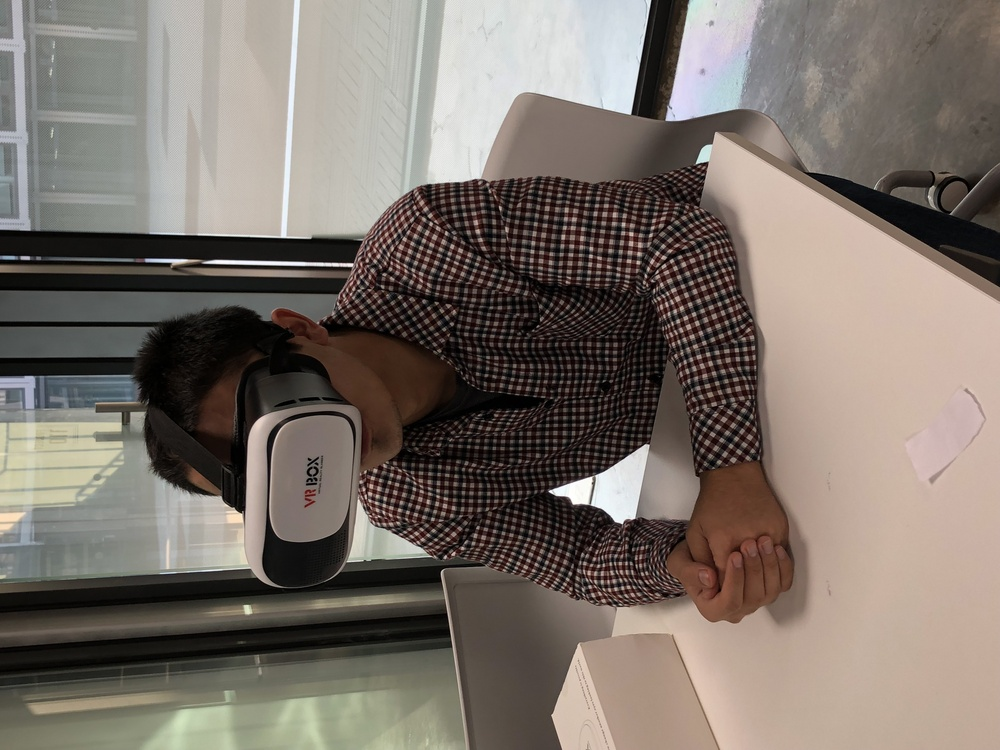 Virtual Reality Experiences in Endicott College