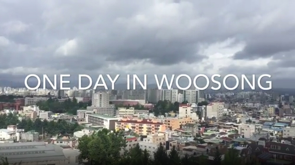 One Day in Woosong from new students' eyes